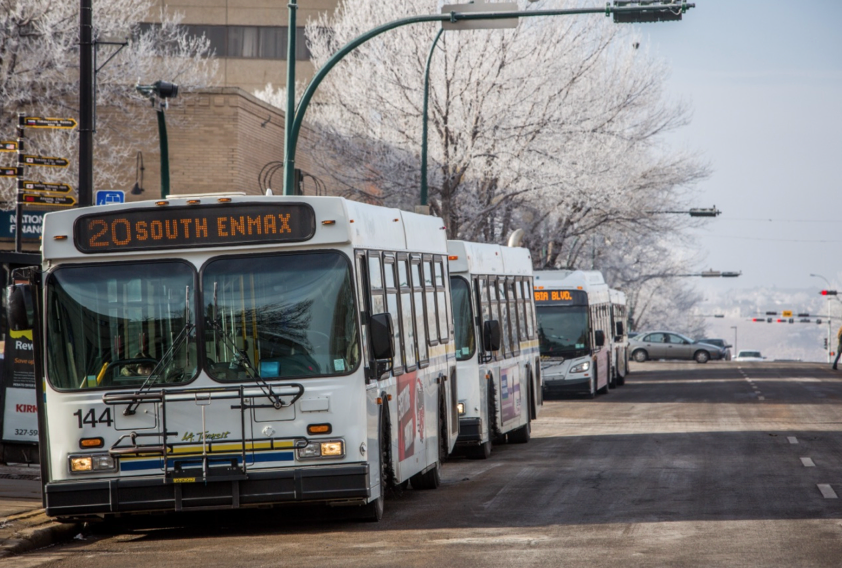 Lethbridge Transit Bus