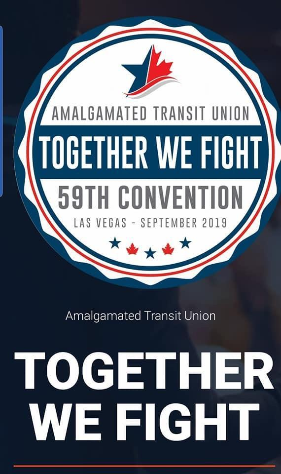 The 59th ATU International Convention 2019 Is Fast Approaching Within 8 Days Away!!!