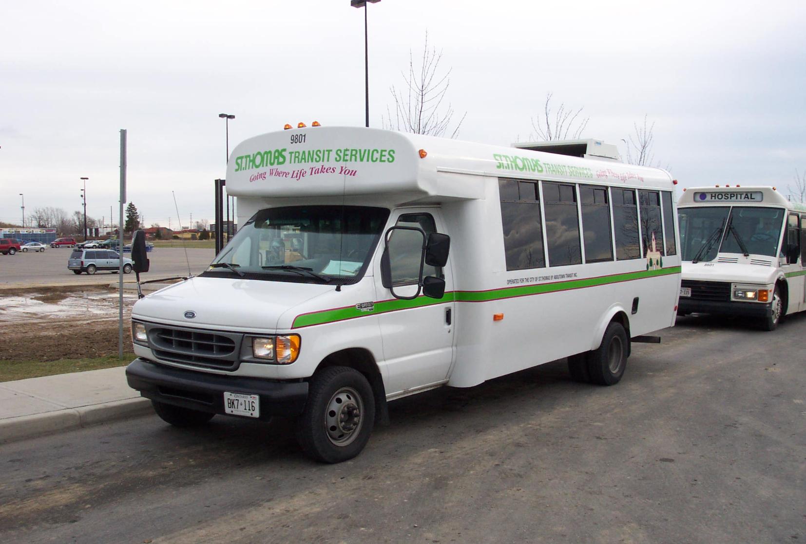 St. Thomas Transit Bus
