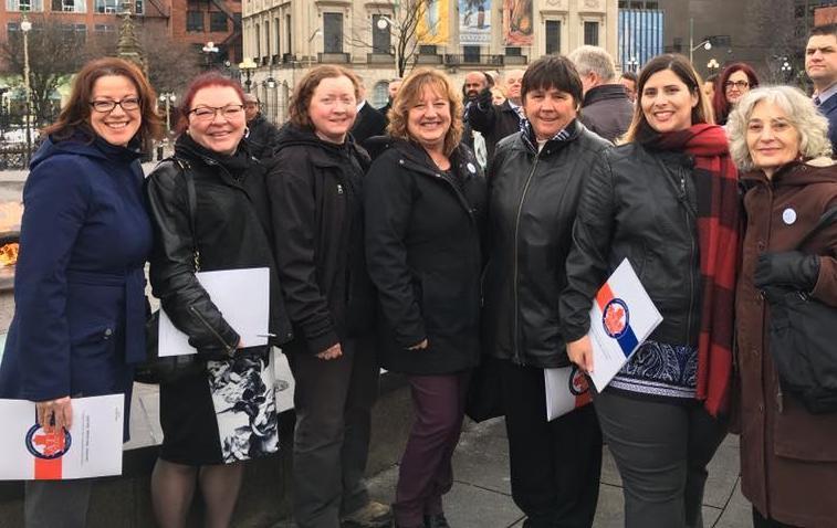 ATU Women at Lobby Days Ottawa 2018